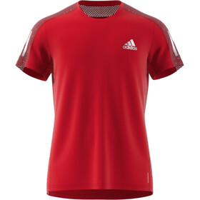 adidas OWN The Run SS Tee Men scarlet/reflective silver